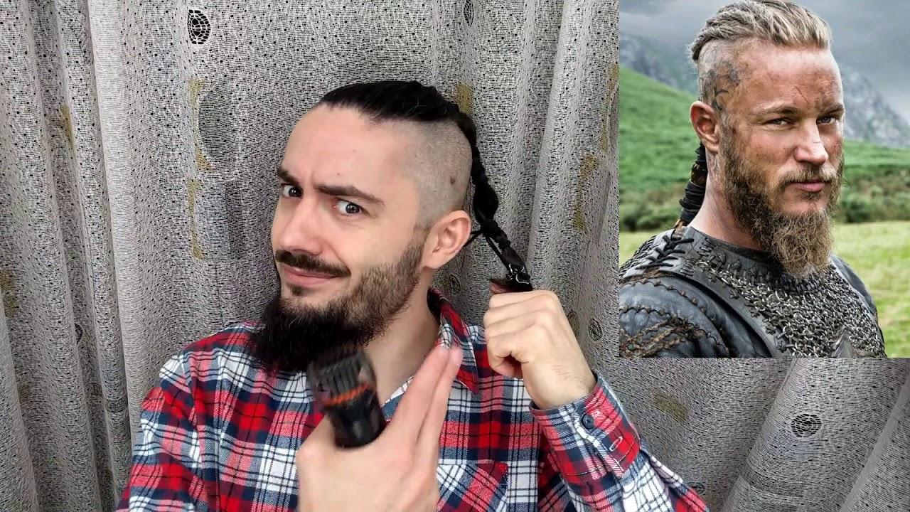 Vikings Bear Style Vikings Hairstyle Travis Fimmel Beard Youtube