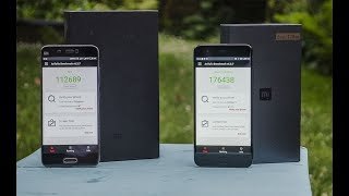 Xiaomi Mi6 (6GB,128GB) vs. Xiaomi Mi5 (4GB/128GB)- Antutu, multitasking and fingerprint comparison