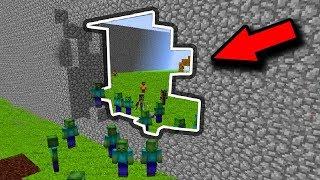 СТЕНА ПОЧТИ РАЗРУШЕНА ОТ ЗОМБИ В МАЙНКРАФТ   GONG #6 МАЙНКРАФТ ЗОМБИ АПОКАЛИПСИС Minecraft ZOMBIE AP
