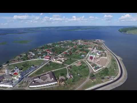 Аэросъемка остров - град Свияжск, DJI Phantom 3