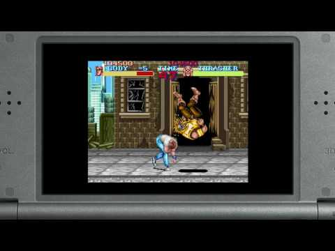 Final Fight New 3DS Virtual Console trailer