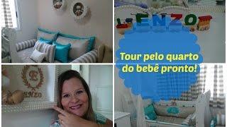 Video Tour pelo quarto pronto do BabyEnzo! Por Aline Valadão download MP3, 3GP, MP4, WEBM, AVI, FLV Januari 2018