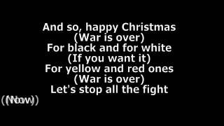 John Lennon - Happy Xmas [War Is Over] Lyrics HD