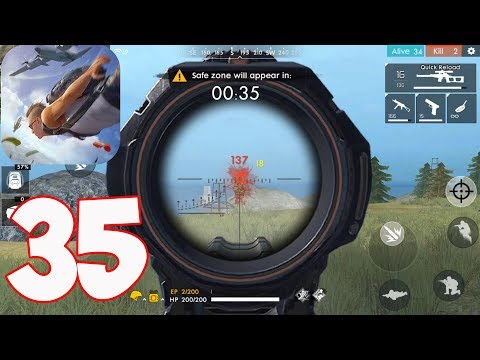 Free Fire Battlegrounds - Gameplay Part 35 - Solo Bermuda 10 Kills (iOS,Android)