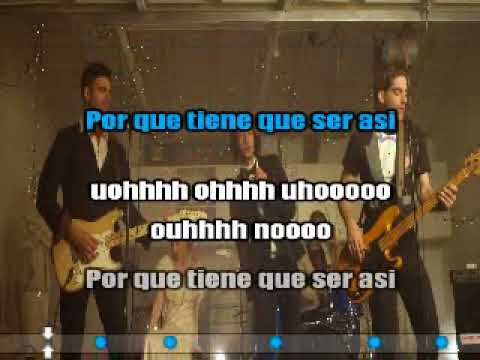 Magic - Rude (karaoke Spanish)