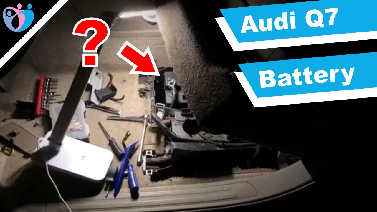 How To Replace A Car Battery On Audi Q7 2007