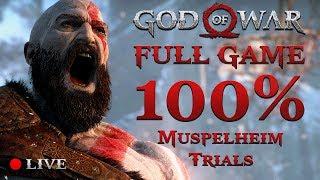 GOD OF WAR 4 (2018) | 100% Completition #5 (Muspelheim Trials)
