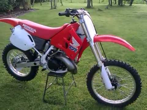 1990 honda cr 250 r moto x bike youtube. Black Bedroom Furniture Sets. Home Design Ideas
