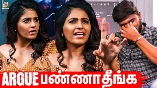 Why Anjali Arguing with Anchor? Yogi Babu, Raju Viswanath I Lisaa Movie Interview