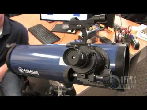 Meade 114EQ 114mm Reflector Telescope - OpticsPlanet.com