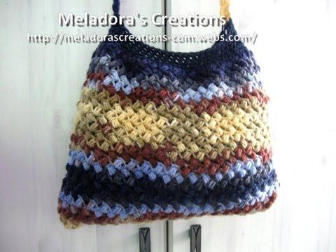 Bean Stitch Purse – Crochet Tutorial