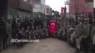 Şırnak Silopi'de Komando marşı ve gövde gösterisi