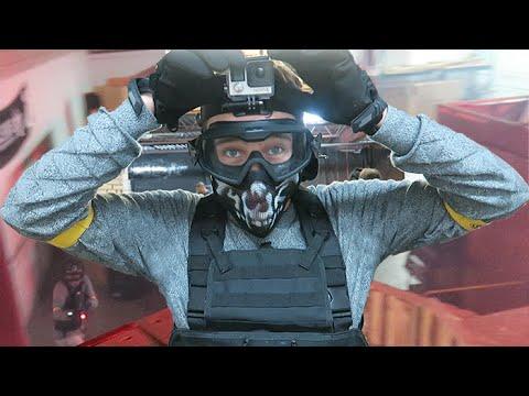 nerf war hostage