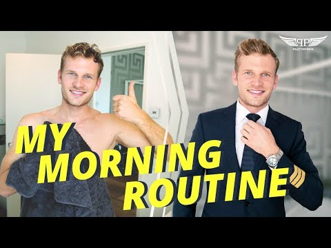 MORNING ROUTINE OF AN AIRLINE PILOT   PILOTPATRICK