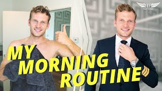 MORNING ROUTINE OF AN AIRLINE PILOT | PILOTPATRICK