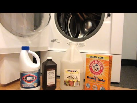 How to Remove Mold on Washing Machine Rubber Gasket | Baking Soda, Vinegar, Peroxide, Bleach