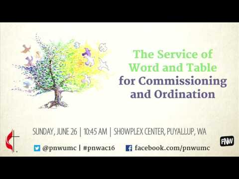 Commissioning and Ordination Service