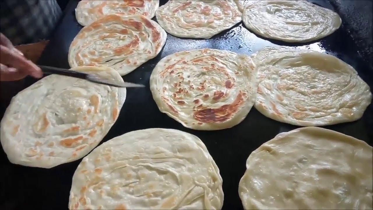 خبز الشباتي أو البراتا الهندي Youtube