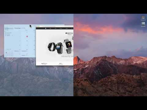 How To Split Screen On MacOS Sierra And OSX El Capitan