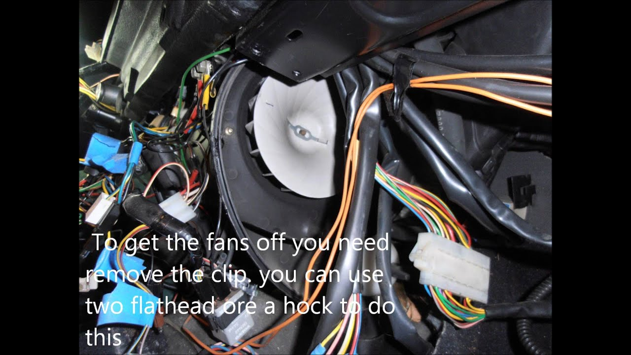 hight resolution of diy blower fan replacement volvo 240 ac plz subscribe