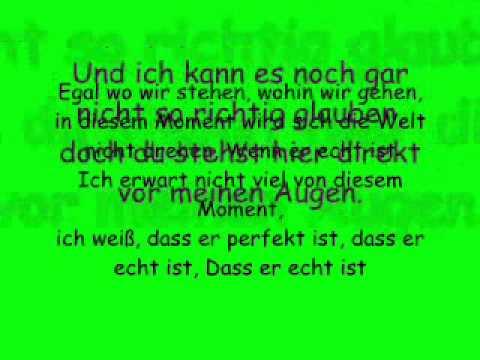 Echt von Glasperlenspiel (lyrics)