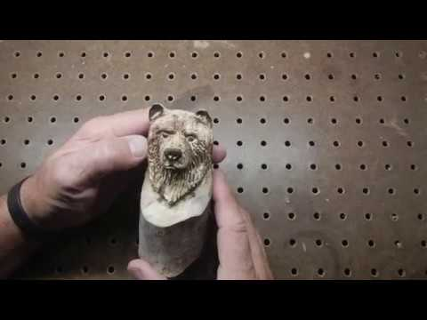 Wood carving a
