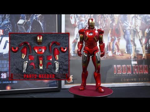 Hot Toys - The Avengers - 1/6th scale Iron Man Mark VII Collectible Figure