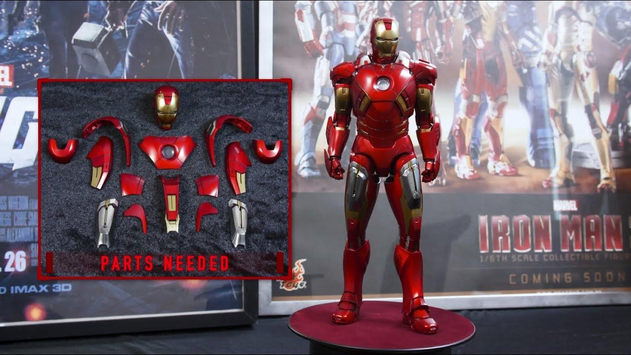 "Marvel MCU Iron Man 6/"" Loose Action Figure Avengers"