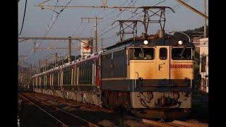 2020/7/31 9867レ EF65 2096+2700系 甲種輸送 端岡~鬼無にて。