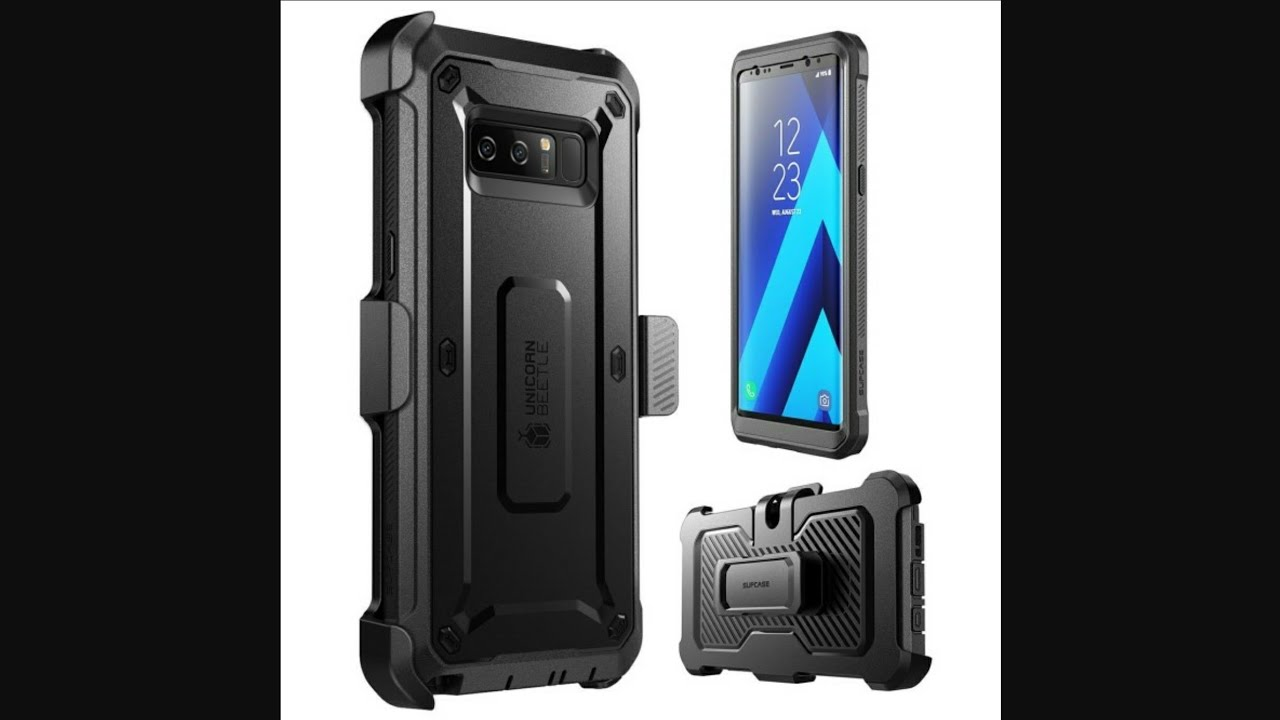 new product 359b0 95ba1 Galaxy Note8 Unicorn Beetle Pro rugged case review!!!!