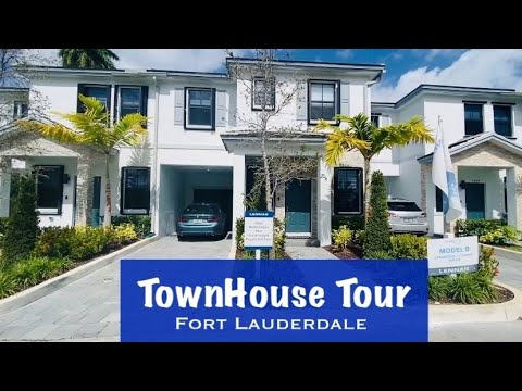 Townhouses in Fort Lauderdale close to Downtown 🏠 New Built