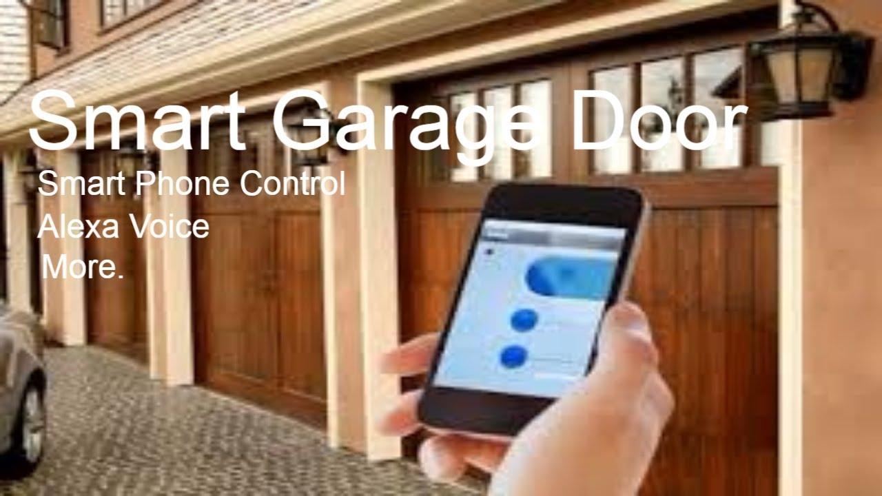 Smart Home Tech Chamberlin Myq Smart Garage Door Opener Youtube