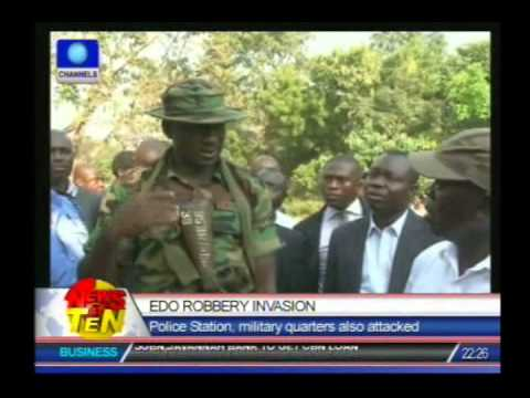 Edo Robbery Invasion:Police Station, military quarters also attacked
