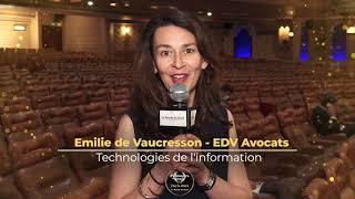 Palmarès du Droit 2021 - EDV Avocats - Technologies de l'information