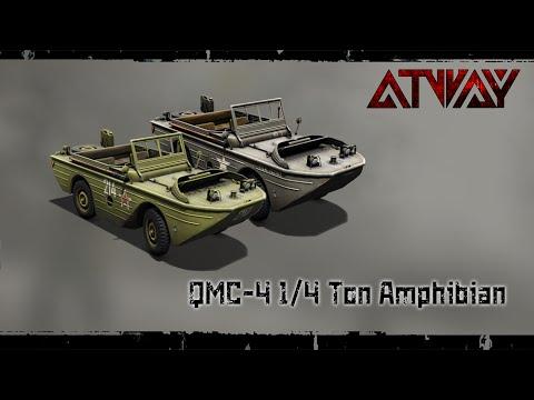 Heroes & Generals. QMC Amphibian car. QMC машина-амфибия.