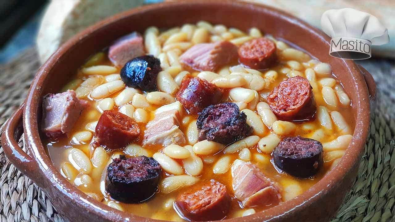 Fabada Asturiana Tradicional Receta Casera