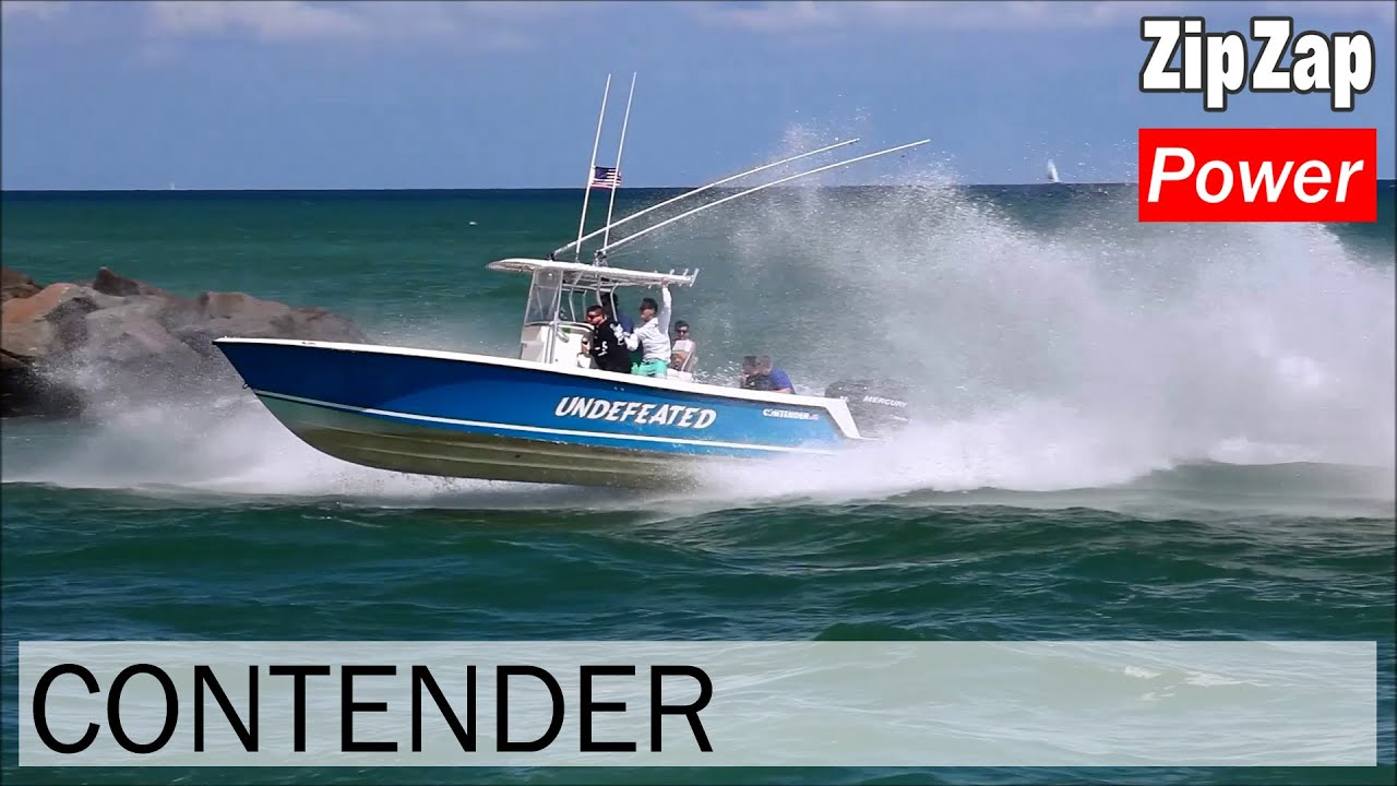 Contender Center Console Rough Water | UNDEFEATED