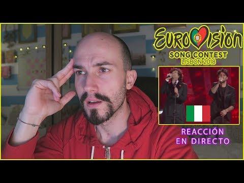 REACCIÓN a Non mi avete fatto niente Ermal Meta y Fabrizio Moro (ITALIA) - EUROVISION 2018