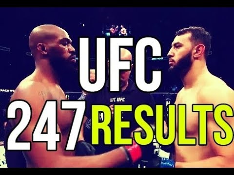 UFC 247 Results: Jon Jones Vs Dominick Reyes Card