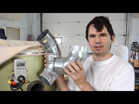 2x45 vs 90 degree elbow air resistance