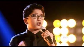 "Tristan Sanchez canta ""La Camisa Negra"" en La Voz Kids"