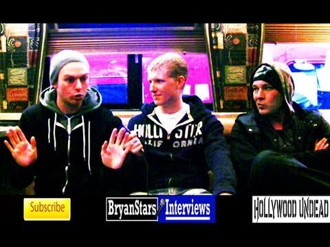 """Bryan Stars interviews Hollywood Undead"""