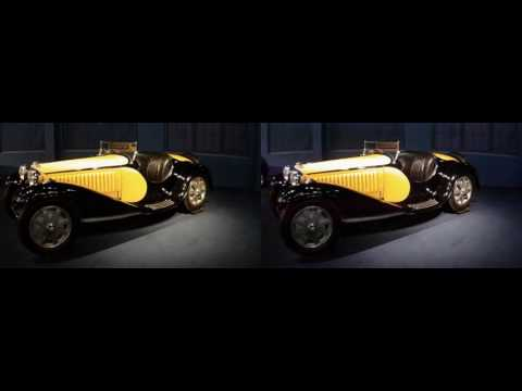Cité de l'Automobile. Collection Schlumpf. Mulhouse, Alsace, France 3D FPV