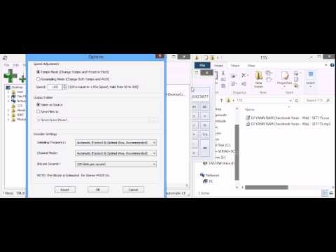 How to change the BPM of MP3 file