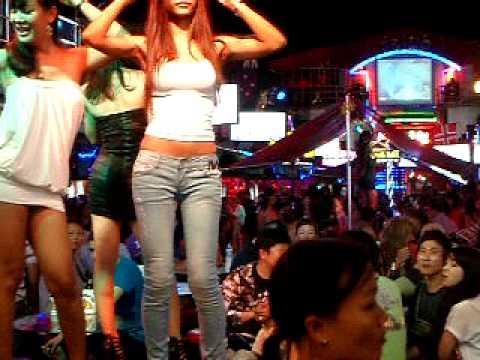 LadyBoys Dancing - Bangla Road Phuket - YouTube