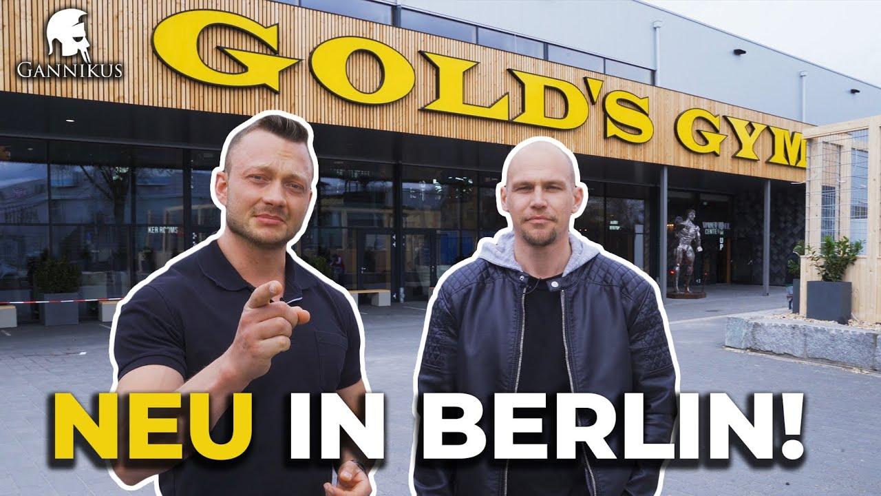🏋 GOLD'S GYM BERLIN - Kompletter RUNDGANG durchs Studio!