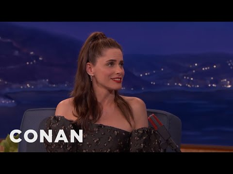"Amanda Peet Told Her Daughter Sex Was A ""Special Hug""  - CONAN on TBS"