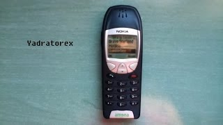 Nokia 6210 retro review. Vintage mobile phone (old ringtones & games)