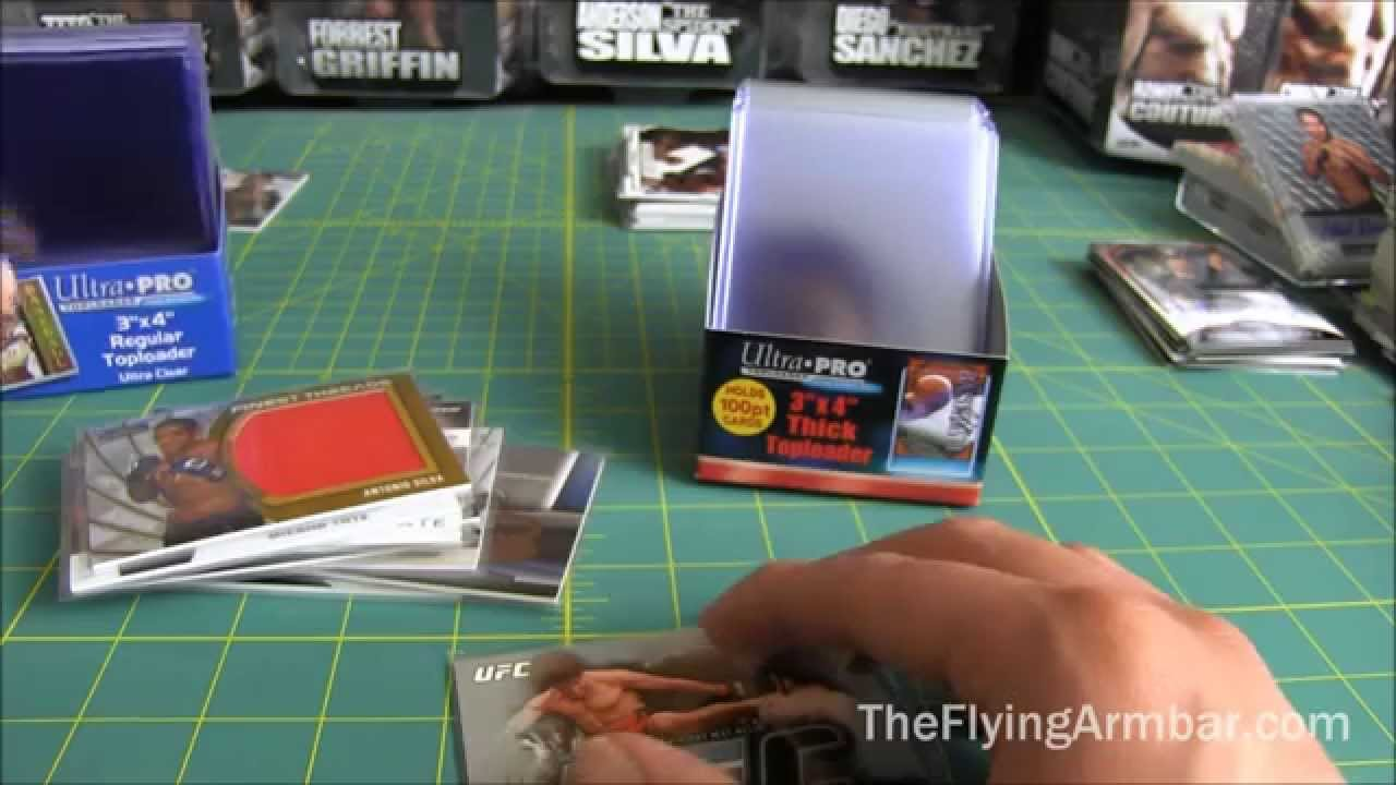 Guide to bcw and ultra pro trading card toploaders cardzreview