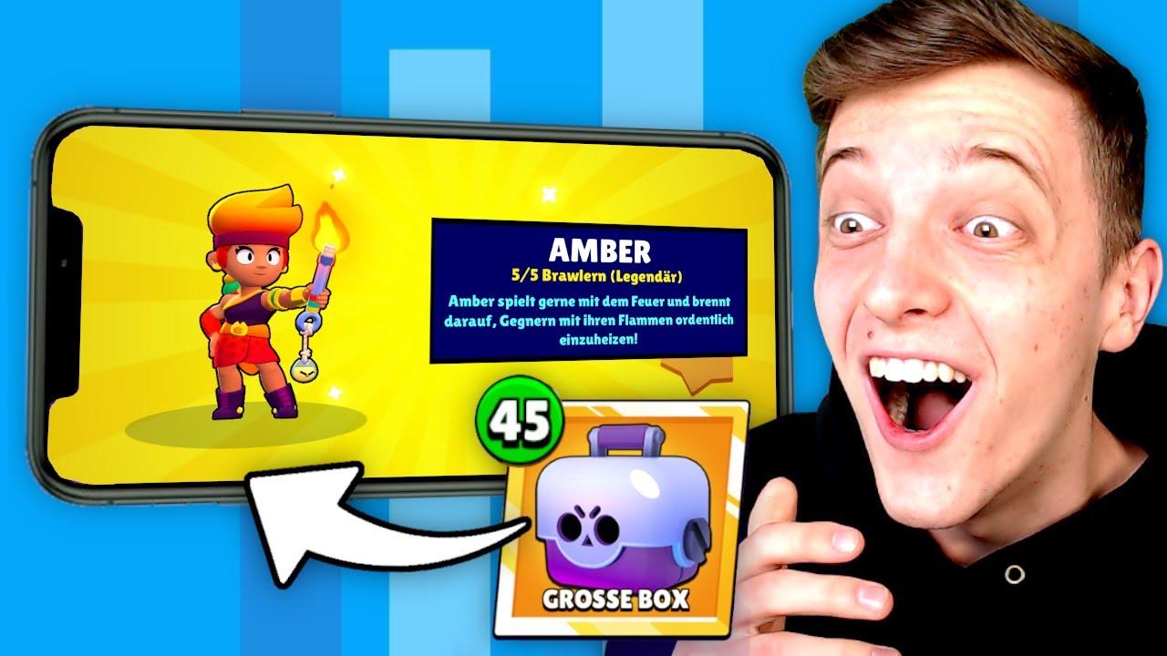 AMBER aus 45x GRATIS BIG BOX GEZOGEN! *OMG* 😍 Brawl Stars deutsch